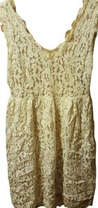Anthropologie short dress Lace on Tradesy