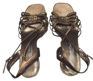 Coldwater Creek Gold Sandals