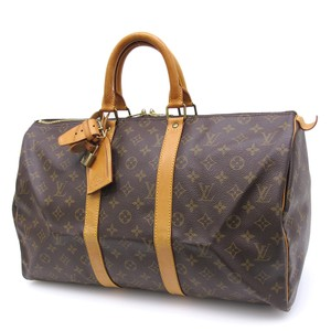 Louis Vuitton Keepall 45 Travel Keepall brown Travel Bag