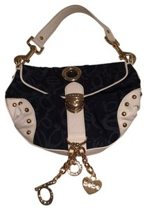 bebe Studded Charm Mini Hobo Bag