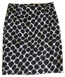 Michael Kors Skirt Black and white