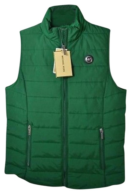 Item - Palmetto Green Quilted Down Puffer Vest Size 14 (L)