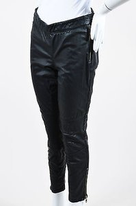Rachel Zoe Leather Moto Pants