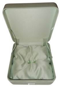 Prada Prada Mint Green Box/ Silken Like Textile/ Removable Tufted Pillow