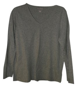 Motherhood Maternity L/S Grey Gray Maternity shirt Large