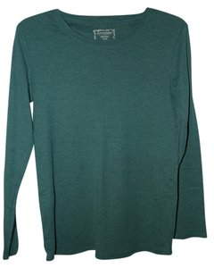Motherhood Maternity L/S Crew neck Maternity shirt Medium Teal