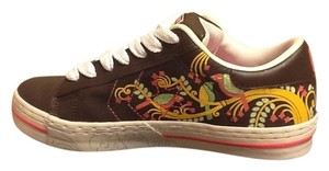 Converse Multi-colored Floral Brown/Multi-colored Athletic