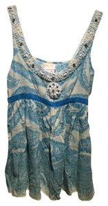 Tracy Reese Top Blue/white