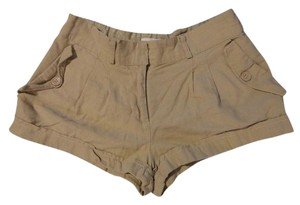Forever 21 Mini/Short Shorts Tan