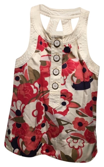 Preload https://img-static.tradesy.com/item/12601723/marc-by-marc-jacobs-floral-tank-topcami-size-0-xs-0-1-650-650.jpg