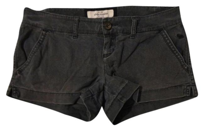 Abercrombie & Fitch Mini/Short Shorts Faded Bluish Grey