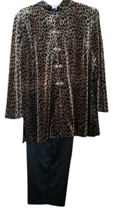 J.B.S. Limited Plus Size Animal Print Pantsuit