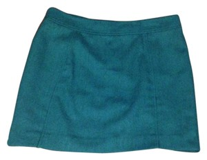 H&M Mini Skirt blue green