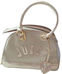 Juicy Couture Gold, Tan, Khaki Travel Bag