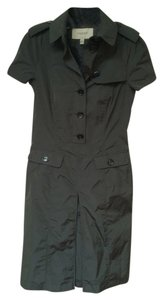 Burberry short dress army green on Tradesy