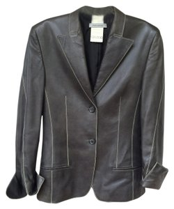 René Lezard Leather Soft Leather Jacket