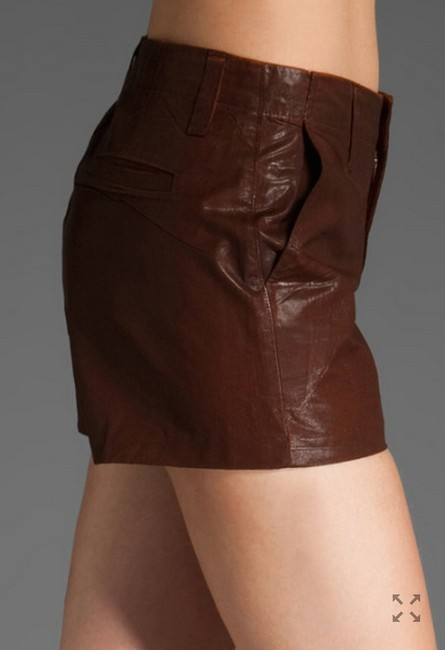 J Brand Mini/Short Shorts Brown