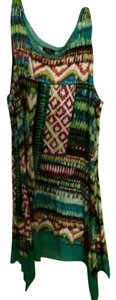 Cupio short dress Green With Other Colors on Tradesy