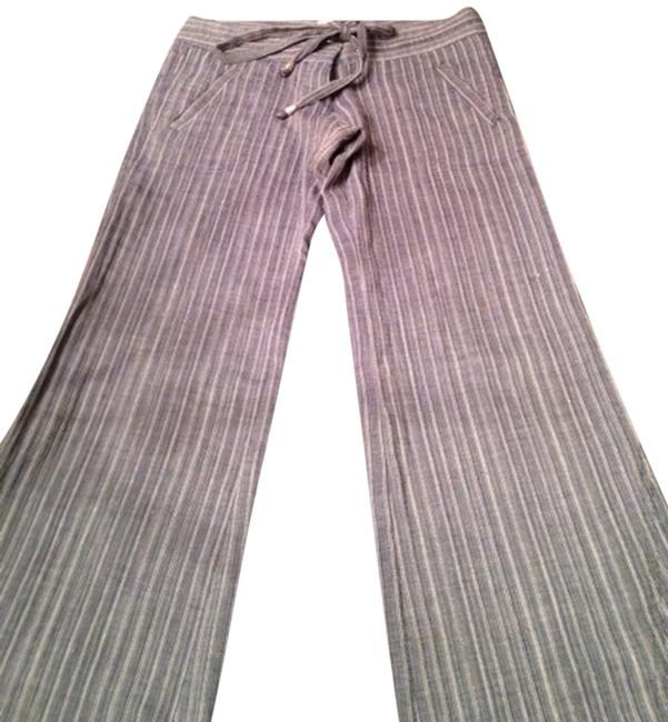Item - Blue with White Pinstripes Pants Size 2 (XS, 26)