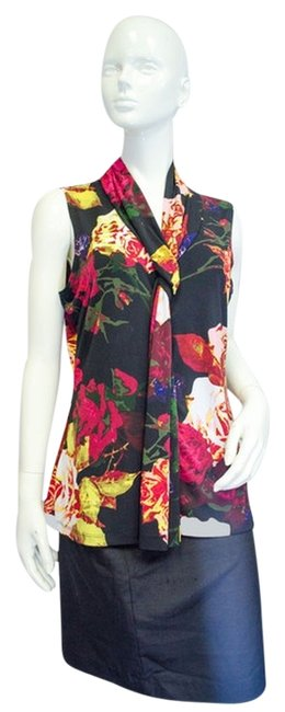 Item - L Fixated On Floral Tank Top/Cami Size 12 (L)