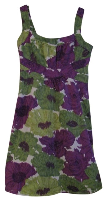 Preload https://item1.tradesy.com/images/london-times-multi-color-floral-knee-length-short-casual-dress-size-8-m-1260950-0-0.jpg?width=400&height=650