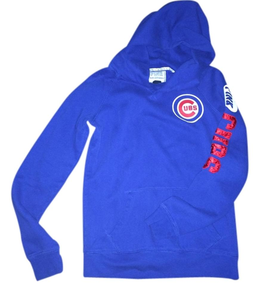best service 4bb34 ef42a PINK Cubbie Blue Chicago Cubs Mlb Baseball Sweatshirt/Hoodie Size 8 (M) 54%  off retail