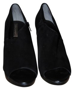 Banana Republic Asymmetrical Platform Black Platforms