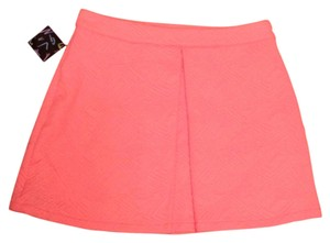 Nasty Gal Mini Skirt Coral