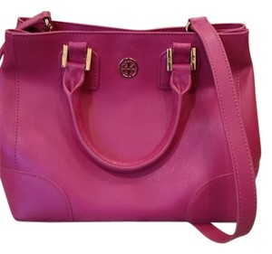 Tory Burch Satchel in Magenta