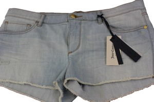 Juicy Couture Mini/Short Shorts Bleach Vintage Wash