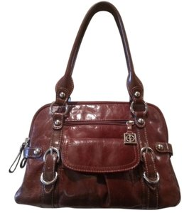 Giani Bernini Chocolate Satchel Shoulder Bag