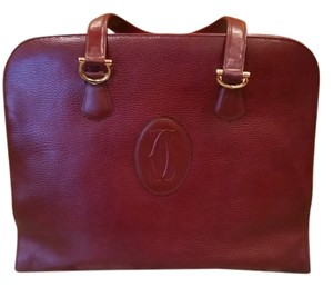 Cartier Tote in Bordeaux