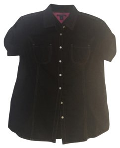 Tommy Hilfiger Button Down Shirt Black