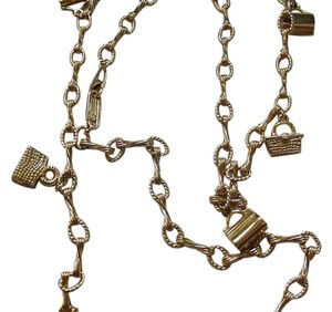 Judith Leiber RARE JUDITH LEIBER PURSE POCKETBOOK GOLD TONE NECKLACE 36 1/2