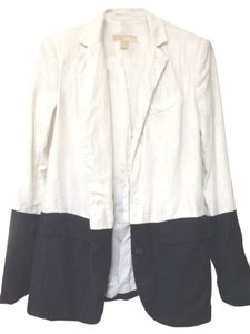 Michael Kors Navy / Optic White Blazer