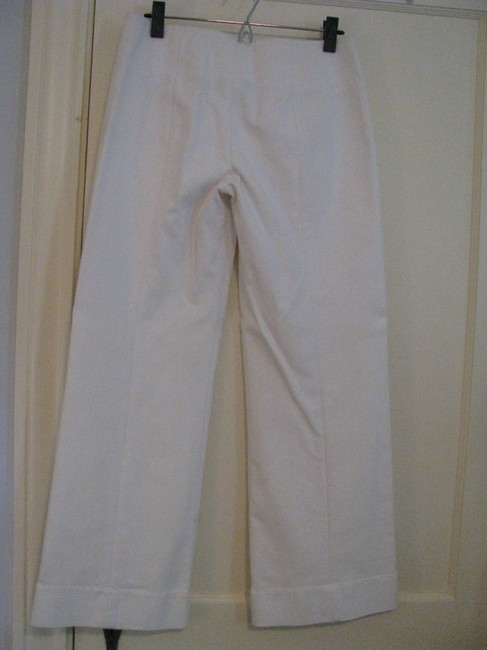 DKNY Super Flare Pants Off white