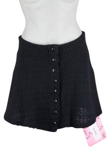 Betsey Johnson Mini Skirt Black