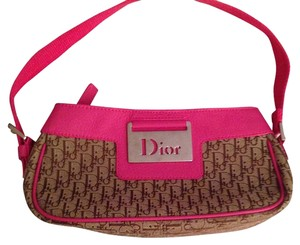 Dior Tote in Bright Pink