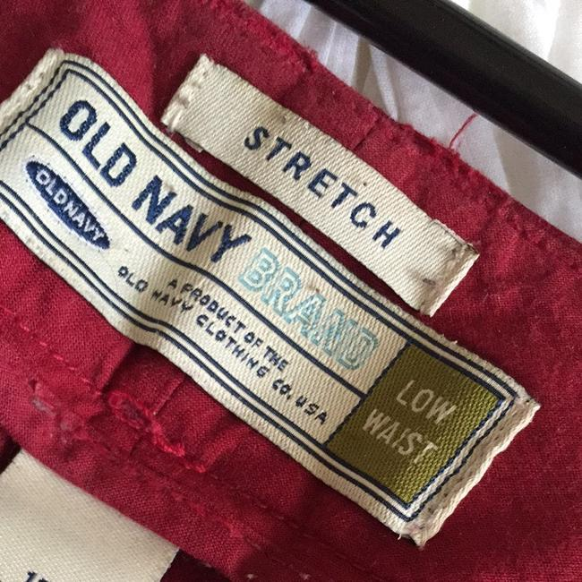 Old Navy Wide Leg Pants Red
