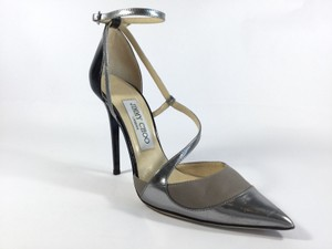 Jimmy Choo Patent Leather Tricolored Pumps