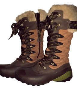 Merrell Winter Snow Chestnut Boots