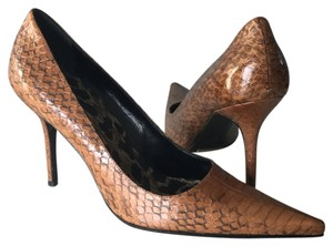 Dolce&Gabbana Snakeskin Brown Pumps