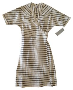 Rogan short dress Striped Wrap on Tradesy