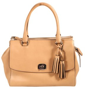 Coach Legacy Satchel Leather Shoulder Bag