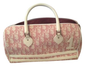Dior Tote in Pink And White