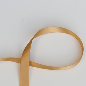 Gold Satin Ribbon 1.5 Inch X 10 Yards - Double Faced Satin Ribbon For Sash Or Decoration
