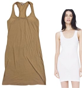 James Perse short dress Nude on Tradesy