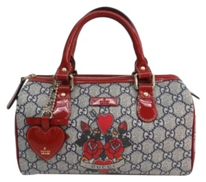 Gucci Satchel in Red and Blue
