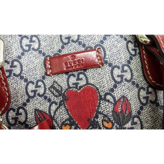 Gucci Bags Satchel in Red and Blue