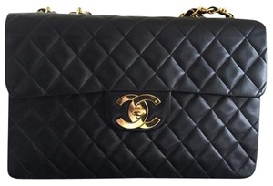 Chanel Vintage Jumbo Xl Maxi Classic Shoulder Bag